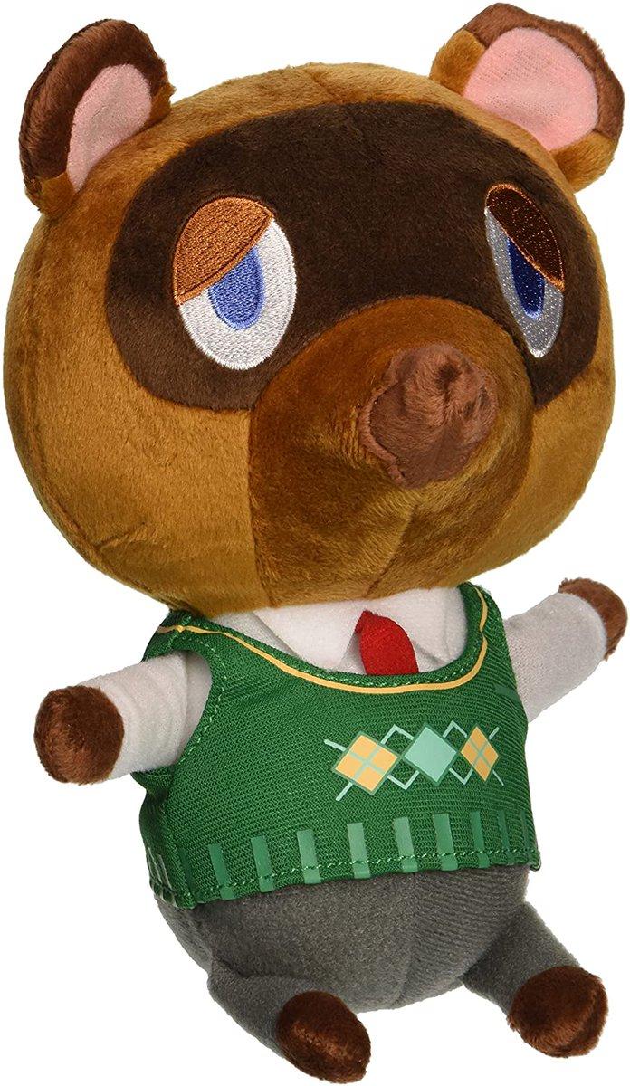 Animal Crossing New Leaf Tom Nook 8' Plush is $14.99 on Amazon amzn.to/2T5fYuJ