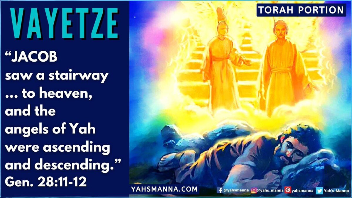 VAYETZE: JACOB'S COVENANT WITH YAH https://t.co/JUQa8fRf7r #biblestudy, #DailyManna, #hebrewroots, #Jacobsladder, #LeahAndRachel, #TorahPortion, #tORAHpORTION7, #VAYETZE https://t.co/zToF6WU0WH