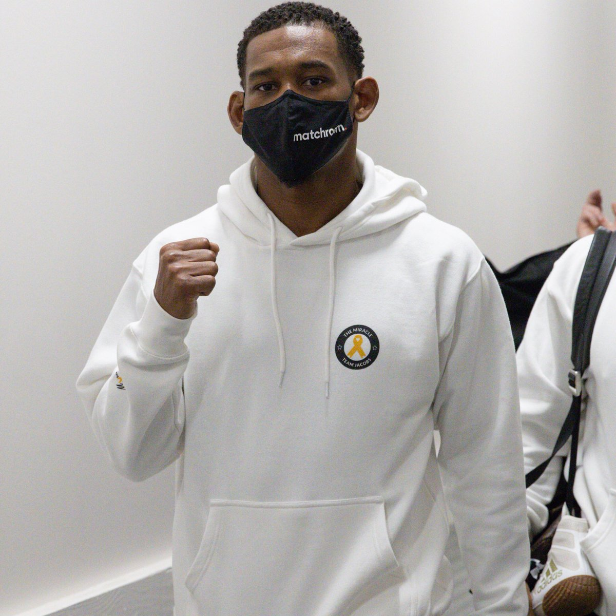 The Main Event is in the building. 📸  #JacobsRosado https://t.co/EumQAFUHHm