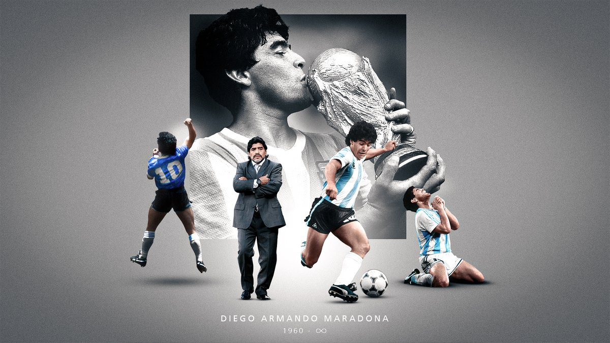 Replying to @FIFAWorldCup: This week, the world of football lost a legend. Rest in peace, Diego Maradona.