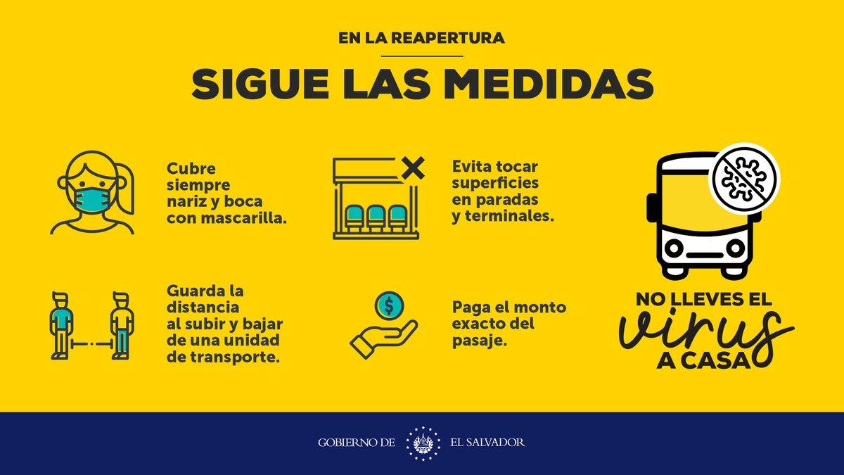 ¡Combate el #COVID19 en todo momento! Cuando uses el transporte público, practica las siguientes medidas para prevenir contagios.  #NoBajesLaGuardia https://t.co/x2V06ICdpP