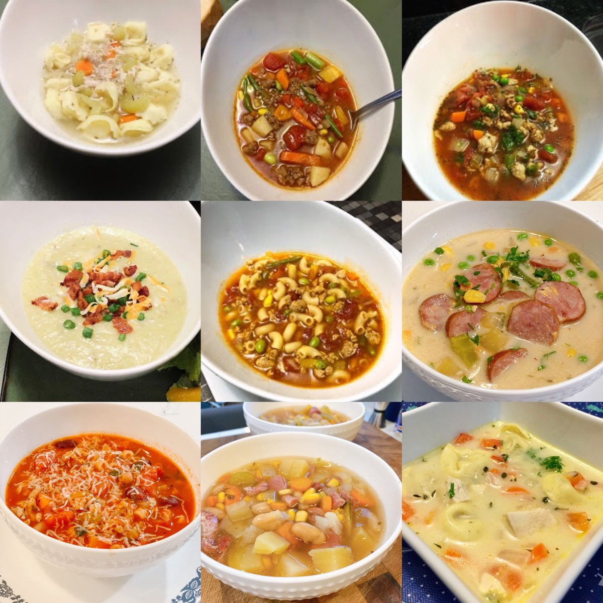 HoneyBears & SydneyBeans:   White Bean & Ham Soup, Pasta Fagioli Soup, Potato Kielbasa Soup and 20 MORE Great Soup Recipes!  https://t.co/0XKX3KokPc  #blog #FoodBlogger #MomBlogger #MomLife #Dinner #soup #comfortfood #chickennoodle #crockpot #healthyeating https://t.co/0k7aSX1Ia2