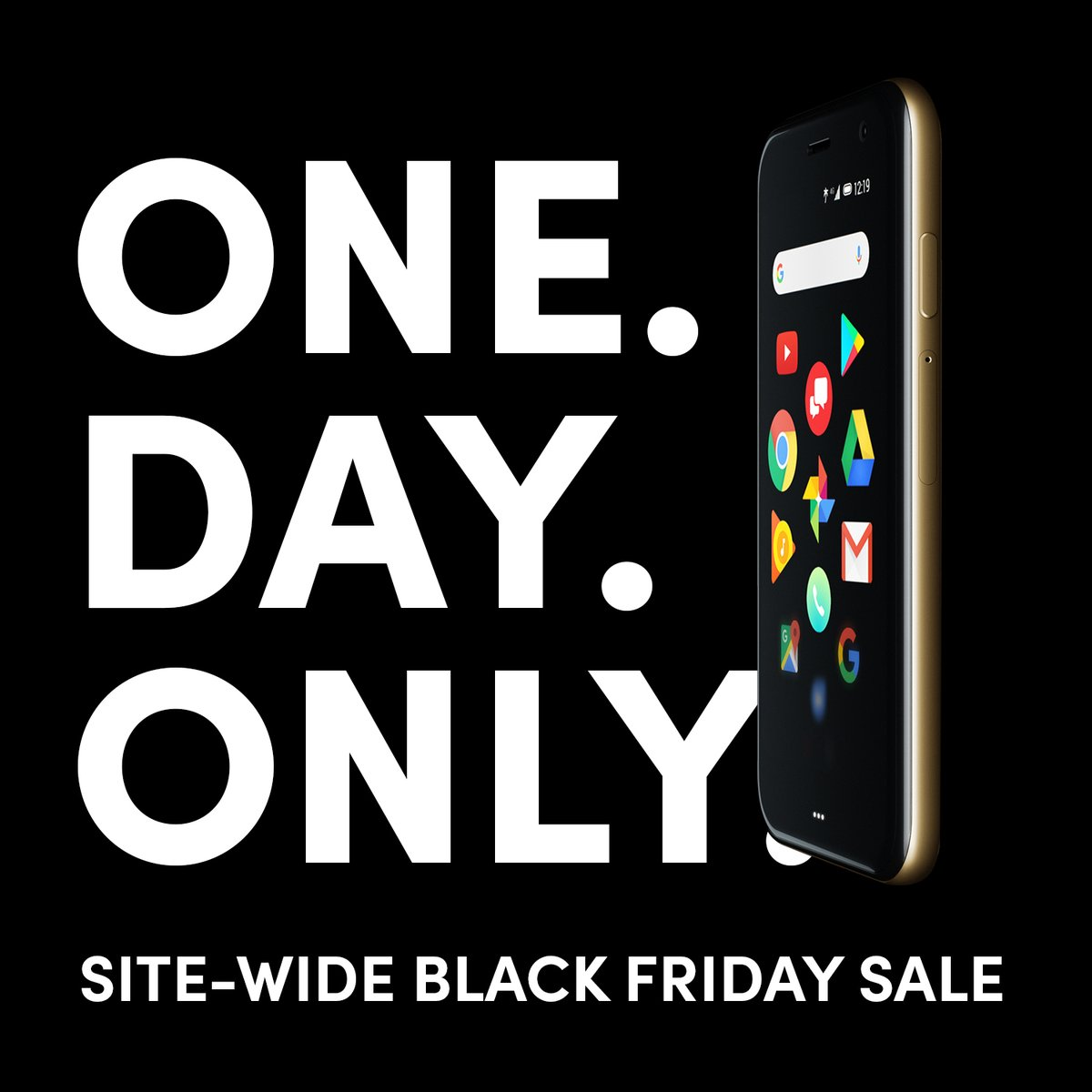 ONE DAY ONLY. SITE WIDE BLACK FRIDAY SALE.  #LifeMode #BlackFriday #PalmPhone #BlackFriday