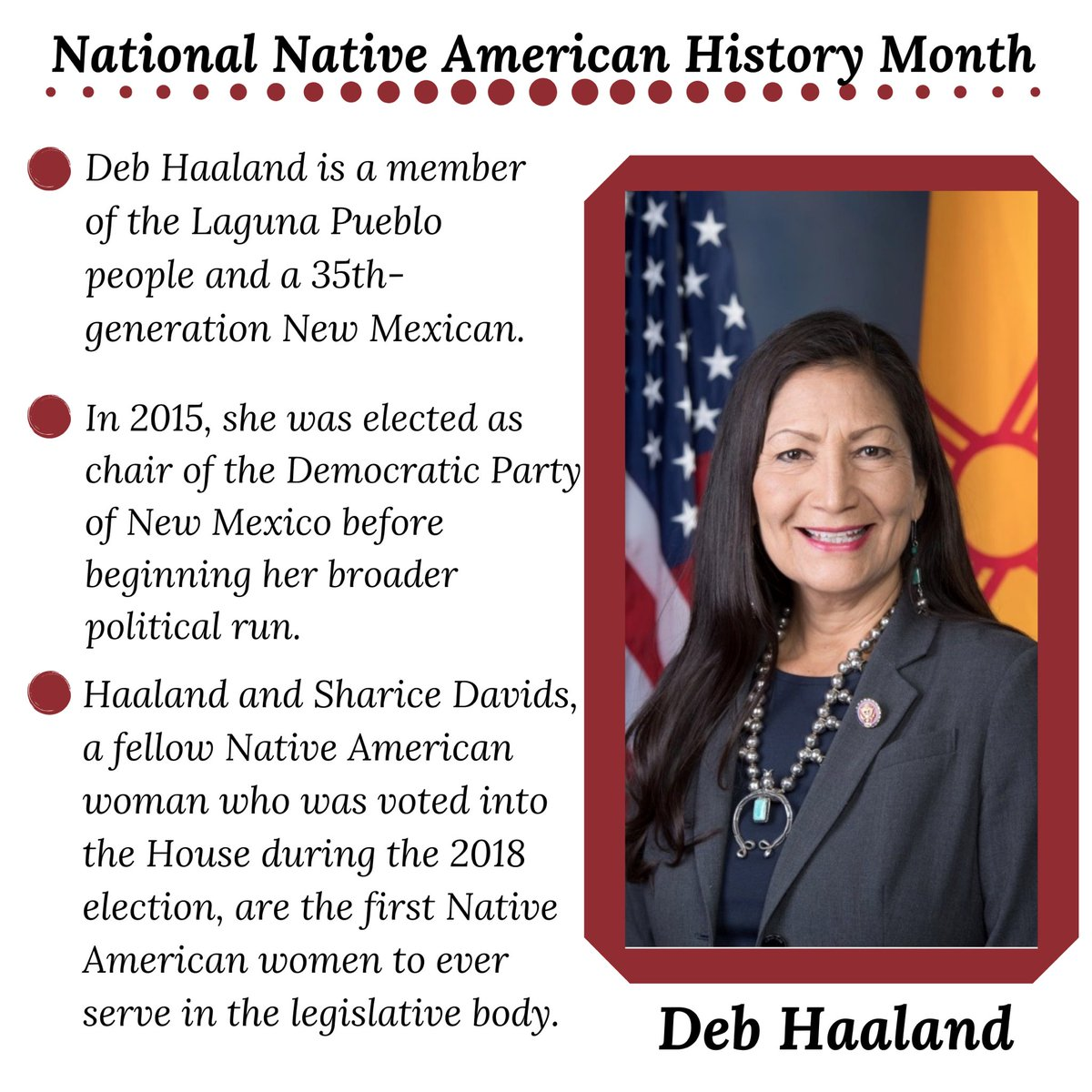 We're still celebrating Native American history!  #happyfriday #nativeamericanhistorymonth #indigenous #culture #thankful #positive #womenleaders
