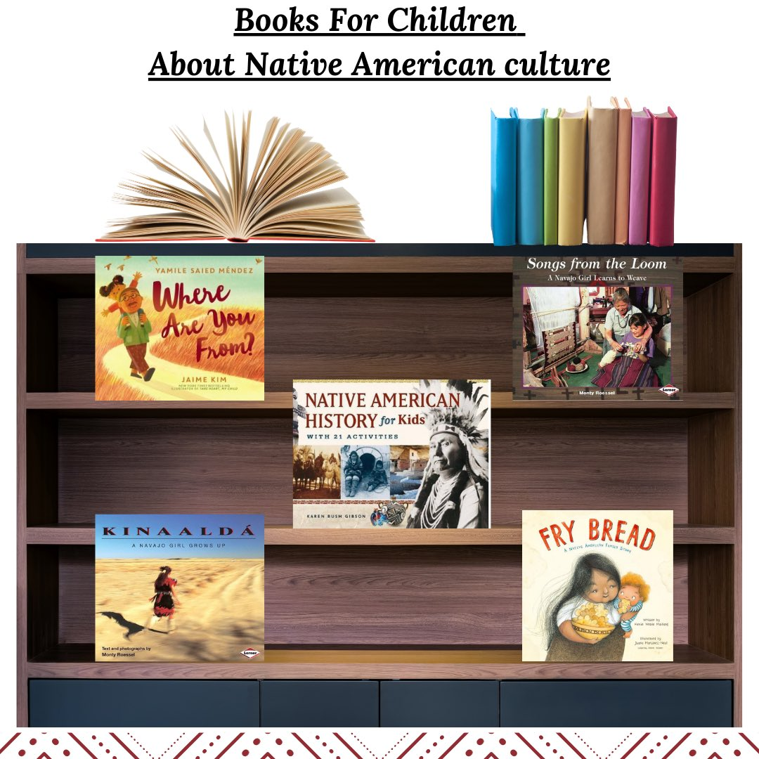 Check out these great books!  #happyfriday #nativeamericanhistorymonth #indigenous #culture #thankful #positive #womenleaders