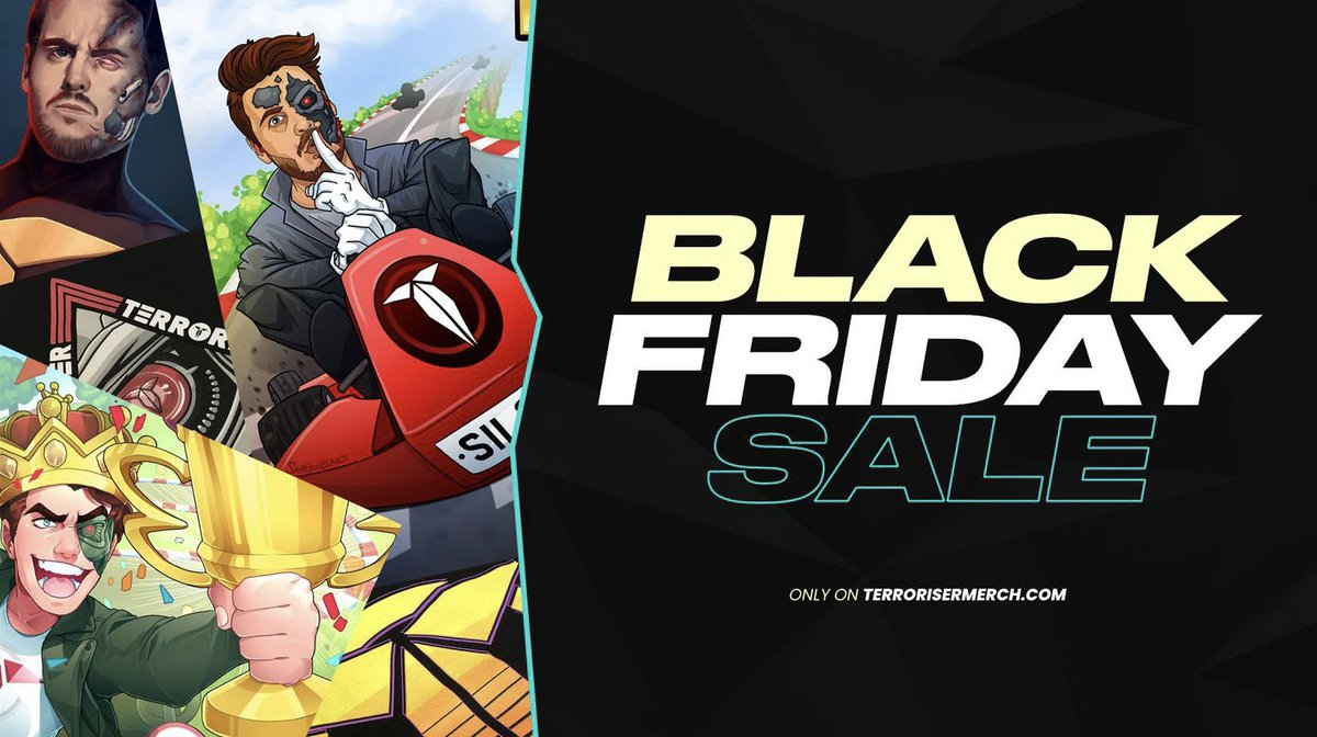 Terroriser - 🚨 BLACK FRIDAY SALE! 🚨  You guys want some discounts??? We got you! Pick up some of the posters and previous merch at low low prices!   💵💸💸