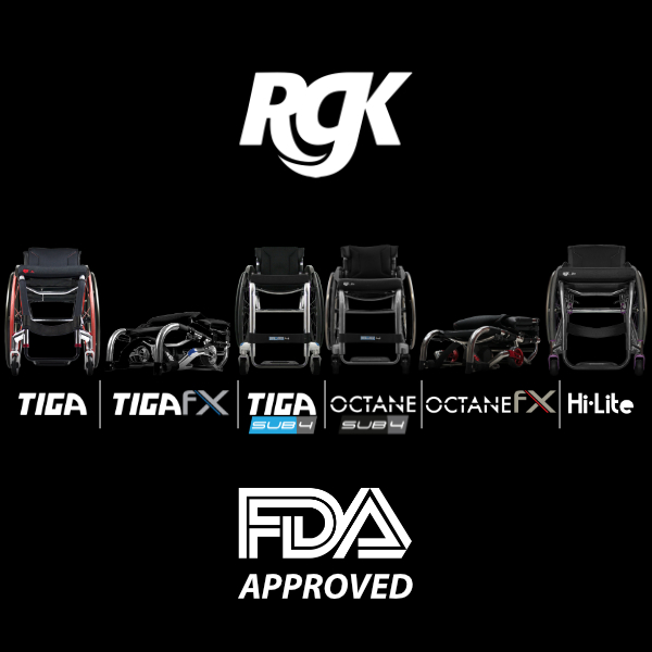 Live in the US and want a new day chair?  Why not choose an RGK?!  We have been approved by the FDA and our products are ready to go!  Contact us today to arrange your assessment!  #RGK #RGKWheelchairs #daily #OctaneFX #TigaFX #Sub4 #Tiga #HiLite #USA https://t.co/Z8sOrP4IRo