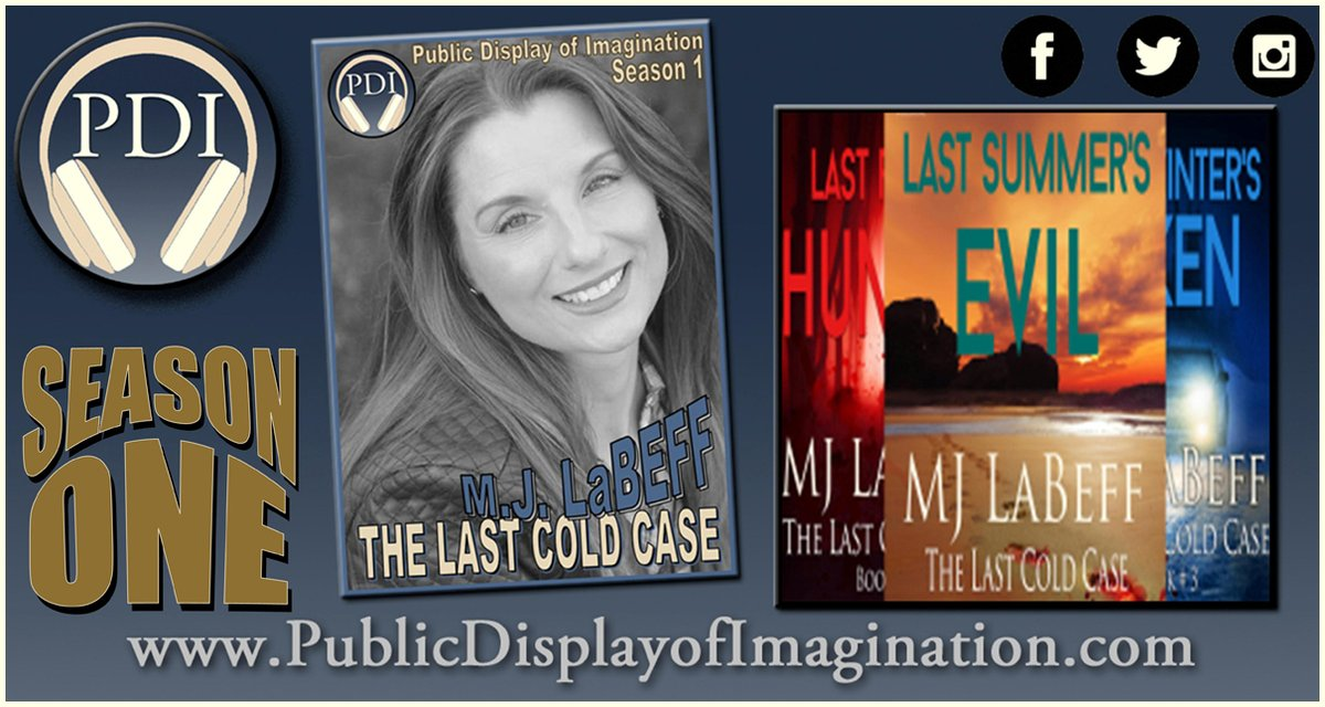 How does a sweet, innocent looking, charity loving person write #SerialKiller #Suspense #Thriller fiction? We asked author @MJLaBeff  on this #PDI #Podcast Season 1 Adventure. Listen Link to come. #StayTuned #AmWriting #AmReading https://t.co/VsN0aK9IiK