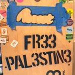 Image for the Tweet beginning: #stencil #vinyl #recentpieces #fr33pal3stin3 #freepalestine