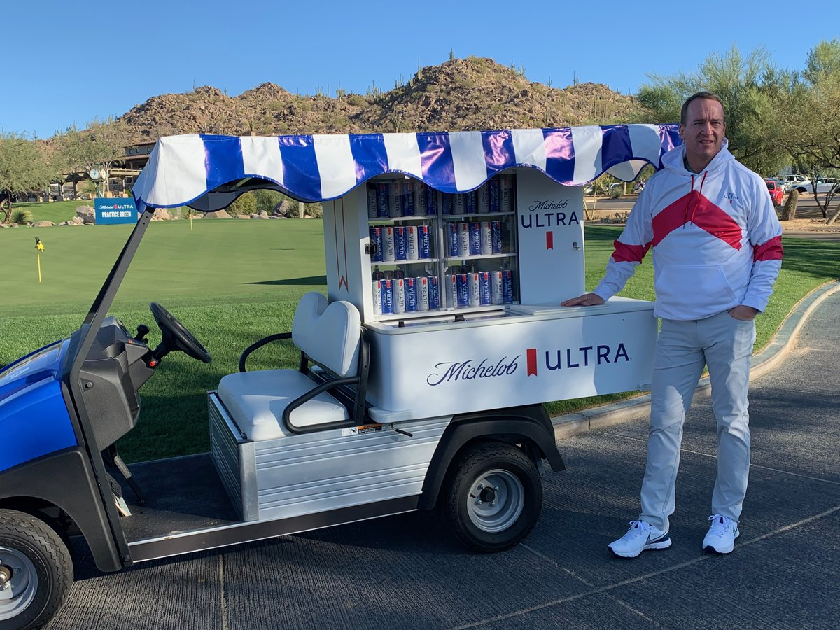 Do you want Peyton's golf cart? Do you want Peyton's hoodie? You could win both.   We're only halfway through #TheMatch and there's still more to give away, including this golf cart. Get in on the fun by replying with #ULTRAGiftofGolf and #Sweepstakes for the chance to win.