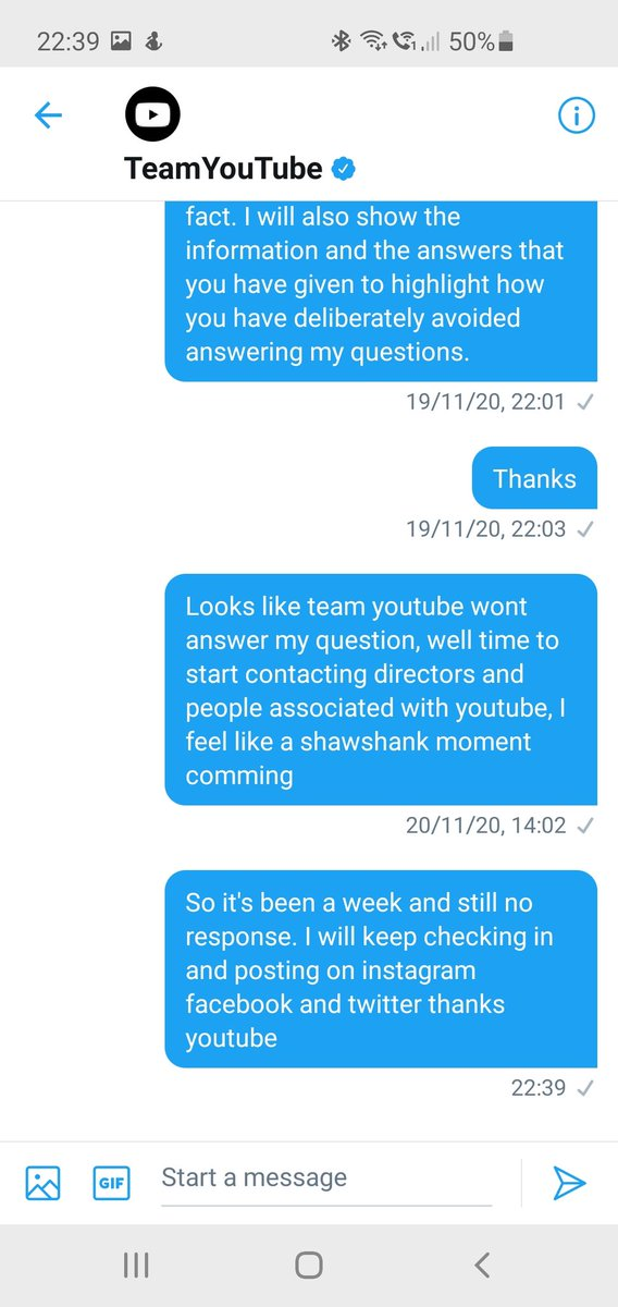 Still no reply from youtube, but while they remove accounts and cost people thousands of pounds without care or concern its ok as long as they make money from advertising to kids ?! #youtube #YouTubeAfricaCreatorWeek #YouTubeOriginals #unfair #justsaying