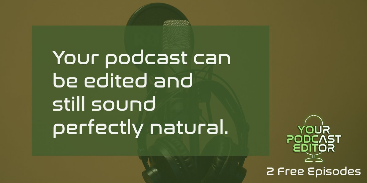 Get free consultations on your equipment, environment and techniques to improve your recordings.   https://t.co/0Ka9rDAm4n  #Podcast #Podcaster #Podcasting #Editing #Podcasteditor #audioediting #podcastaddict #podcasthost #podcastnetwork #podcastnews #Podbean #ype https://t.co/UjII99VIUW