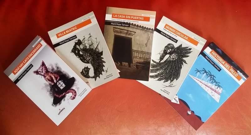 @RNovelist47 La casa sin puertas https://t.co/oCBM63RYTL   Casas encantadas, leyendas urbanas, poltergeist, criaturas… Magia, venganza, misterio, amor y odio. Ecos y sombras que cuentan historias. 31 cuentos, ilustrados por Mario García Portela. #WritingCommunity #writerscommunity https://t.co/33aLk5V7EU