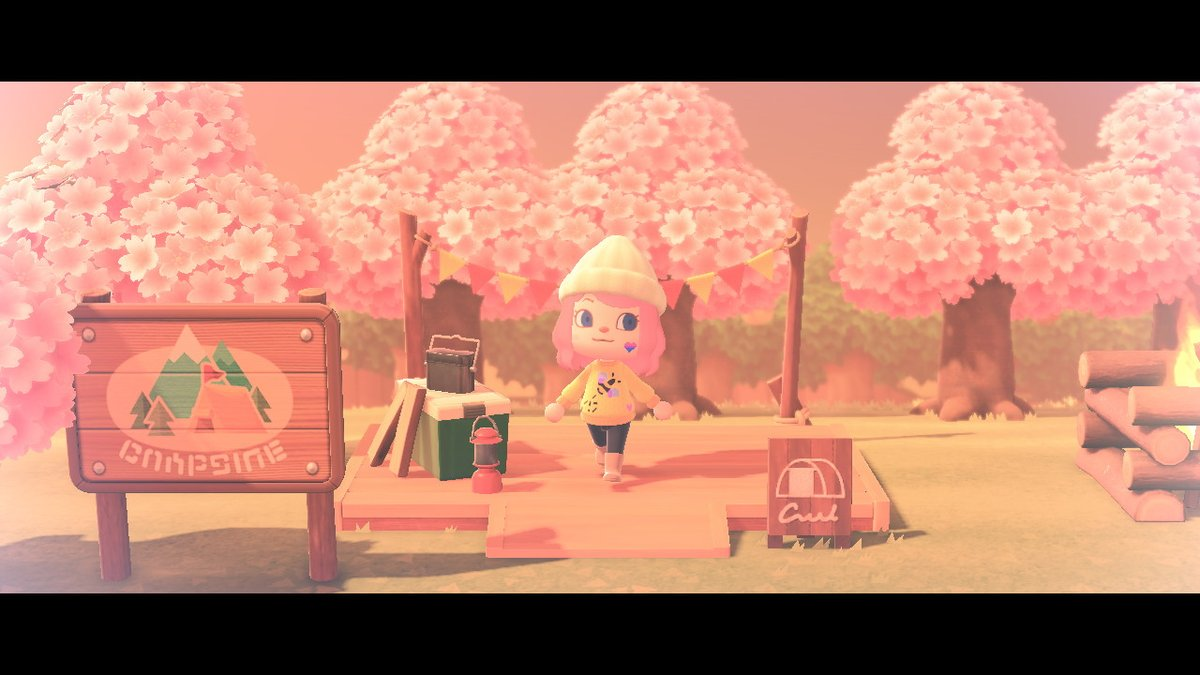 forever excited about cherry blossom season #cherryblossom #AnimalCrossing #ACNH #NintendoSwitch