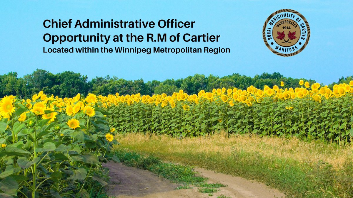 https://t.co/CXixUICtRr – CAO at R.M. of Cartier  #MunicipalJobs   #HarrisJobs   #Jobs   #Hiring   #hiring #OpenToWork #OpenToHire #OpentoOpportunties  #FridayFun  #FF https://t.co/jods2FtW71