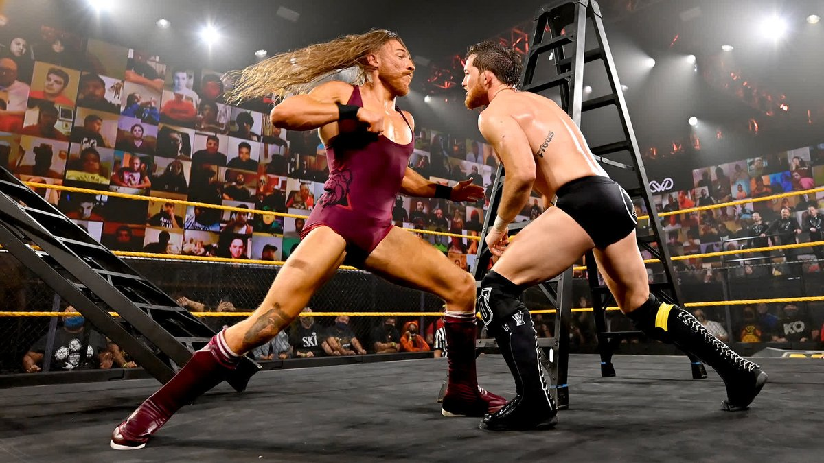 The LADDER MATCH on #WWENXT ended in controversy for the #UndisputedERA! https://t.co/zNVWCzrFgC