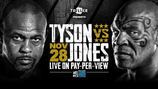 Gonna be epic tomorrow on my Bday 🥊 (Roy Jones Jr. is my favorite boxer, but I sure will pray for him... Be Cautious ⚠️) #TysonReturns #RoyJonesJrReturns #RoyJonesJrBiggestTest