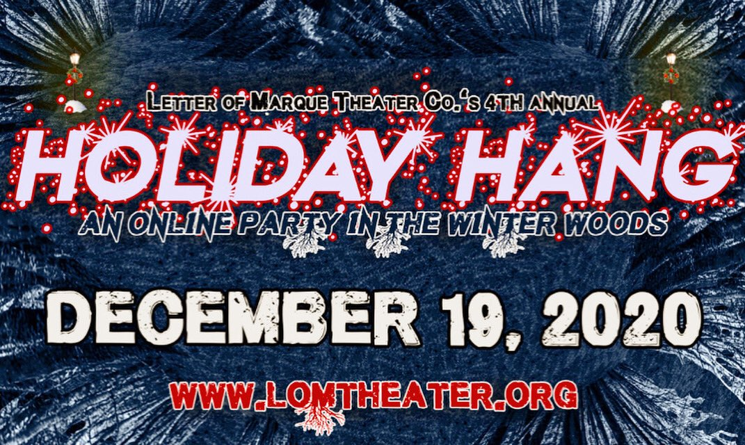 SAVE THE DATE: Sat. 12/19! https://t.co/6Q5gigQssS #onlineparty #gathertown @gather_town  #holidayhang #karaoke #improv #Interactive #8bit #holidate #cheers #trynewthings #addjoy https://t.co/pdBE8FjjNA
