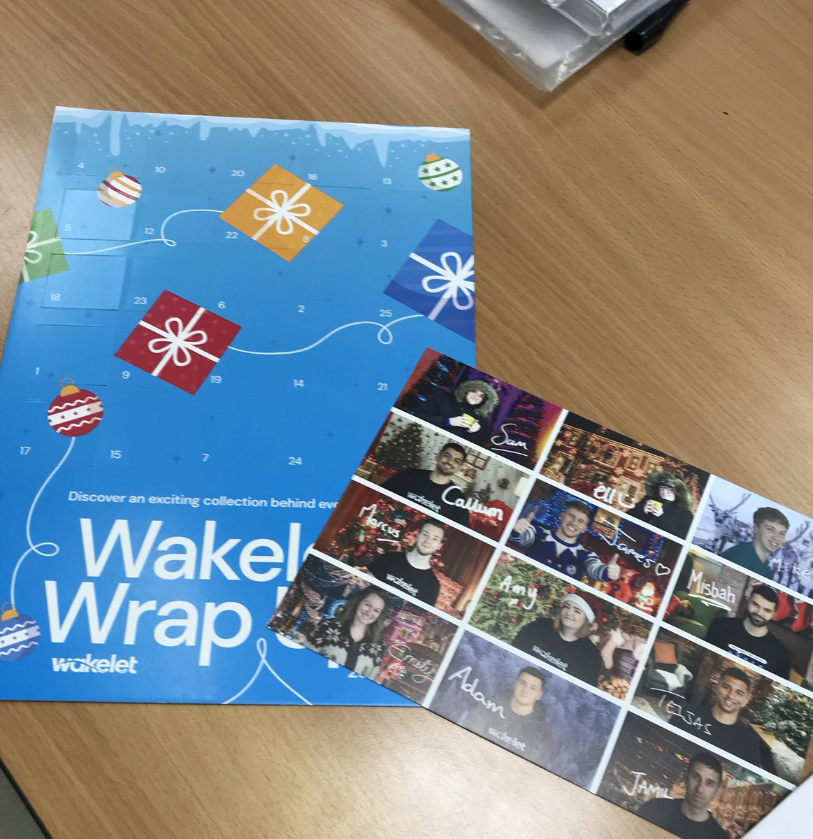 Thanks @wakelet looking forward to advent starting and opening the first door