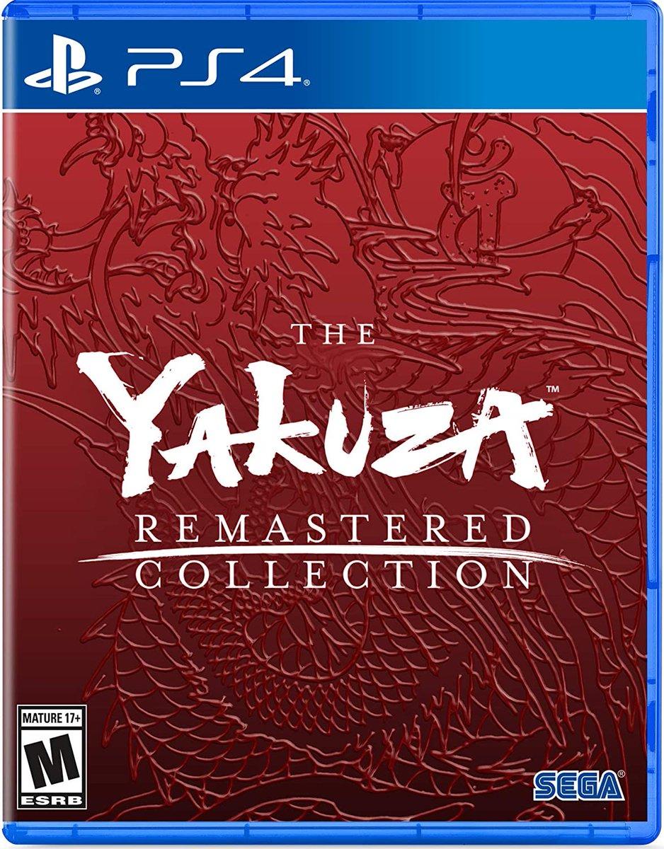 Yakuza Remastered Collection (PS4) is $24.99 on Amazon (low stock) amzn.to/2WYduzQ