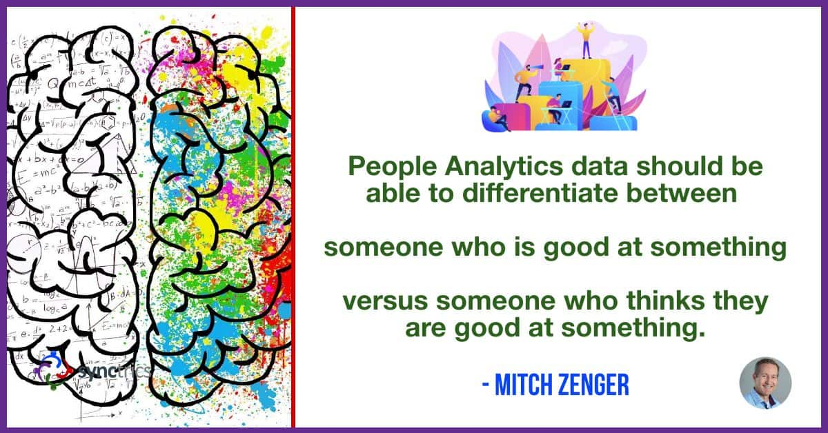 Why can't we use People Analytics data to identify narcissistic behavior?? We need better tools to help people be aware of how they are perceived by others! @mitchzenger @synctrics   #Reputation #Synchievement #DisruptHR #Personability #Synctrics #Goalvana