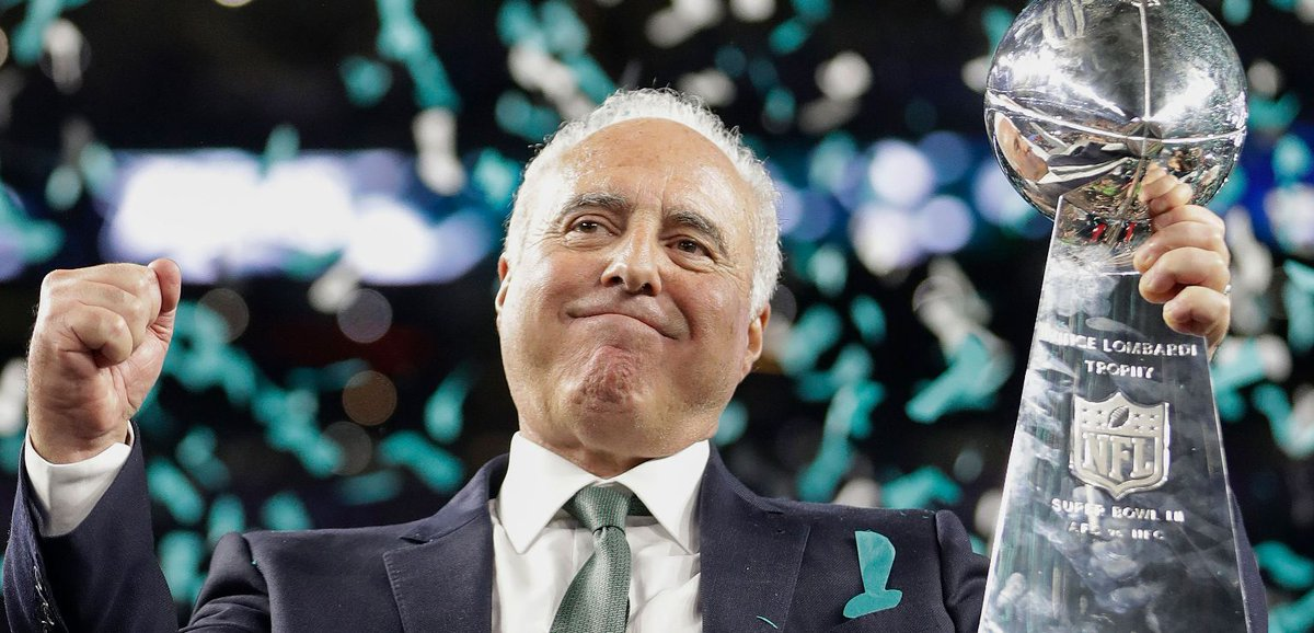 JEFFREY LURIE #Eagles SUGGESTED GAME PLAN: 1) Howie moves to EVP of Biz Ops incl contracts 2) Hire a GM NOW in charge of all Football Ops including scouting/draft/player develop 3) Name Duce Staley Offensive Coordinador 4) Bring a Top QB Coach to address Carson #FlyEaglesFly #NFL https://t.co/3a74FPoTEh