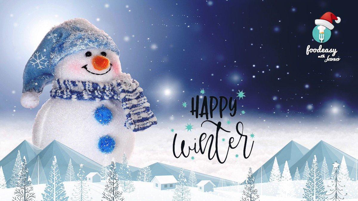 Happy Winter Everyone ❄️  #WINTER #WinterIsHere #Winter2020 https://t.co/eu8qSYkMFr