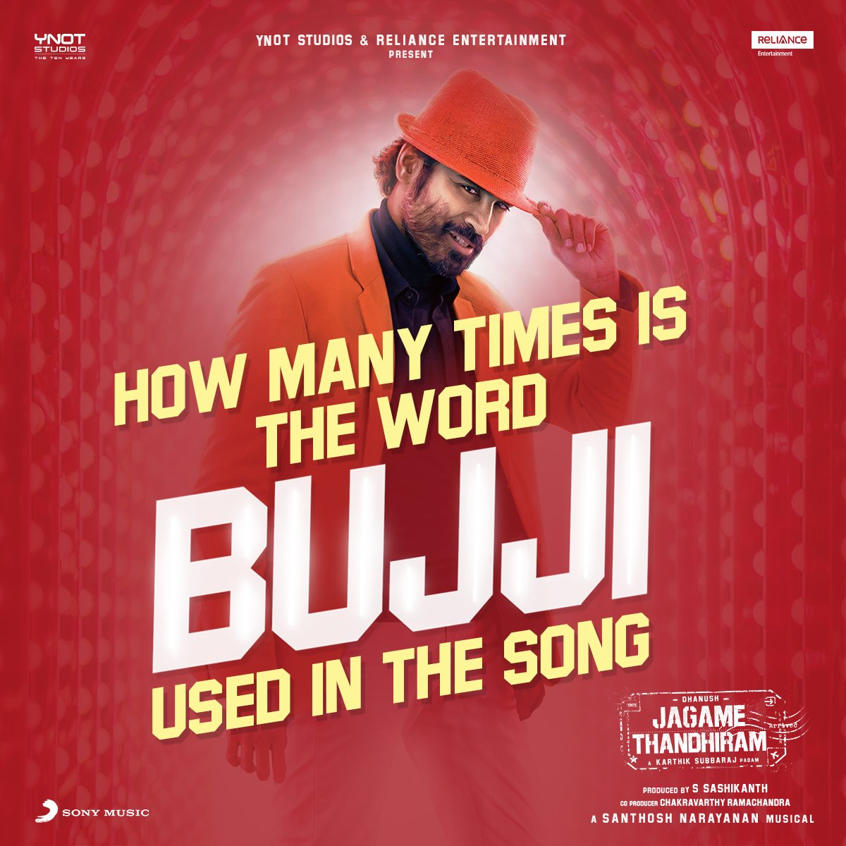 Tell us in the comments! 🔥♥️   #Bujji from #JagameThandhiram  ➡️ https://t.co/ouTD3Pcqof  #JTTamil #BeatsOfBujji https://t.co/ENLnSZKhXF