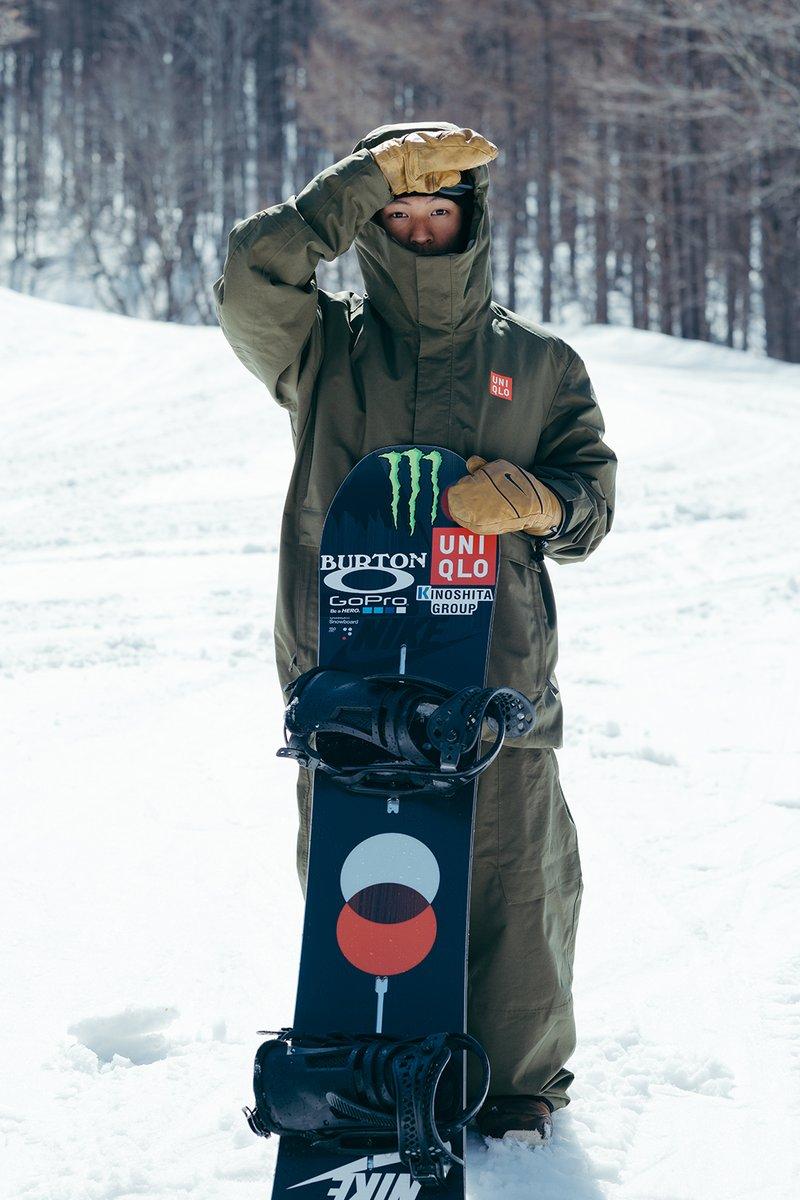 スノーボード ウェア ユニクロ