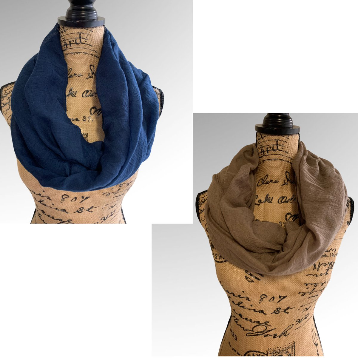 Check out Set of 2 #Lightweight #Scarf #Blue #Brown Solid Color #winter #shawl https://t.co/nOzsD5bY8s @eBay https://t.co/Bd6aMlgVRw