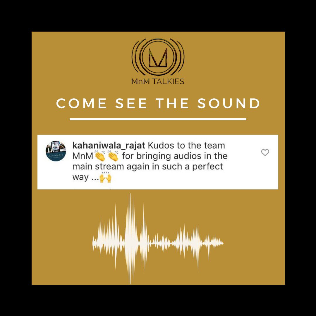 Just the things we do..!🎙🎧  @mantramugdh  #mnmtalkies #comeseethesound® #audiodrama #trendingpodcast #audioseries #podcast #podcastersofinstagram #podcastlife #podcaster #podcasts #podcasting #podcastsofinstagram #podcastplaylist #ASMR #podcasters #theschoolofgreatnesspodcast https://t.co/XGAdr9nrcs