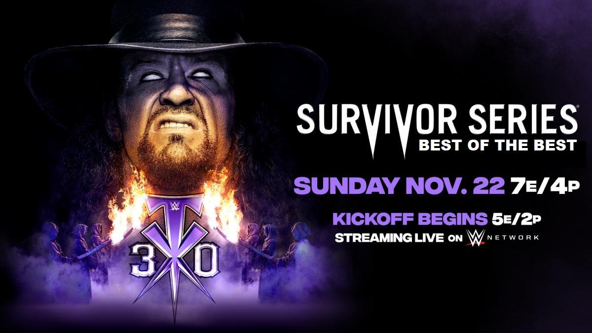 Watching @WWE #SurvivorSeries 2020 (#WWE Entertainment).  #WWEOrlando #WWEonWWENETWORK #WWERAW #SmackDown #FarewellTaker #WWEThunderDome @WWENetwork https://t.co/e2X6U3IwG2