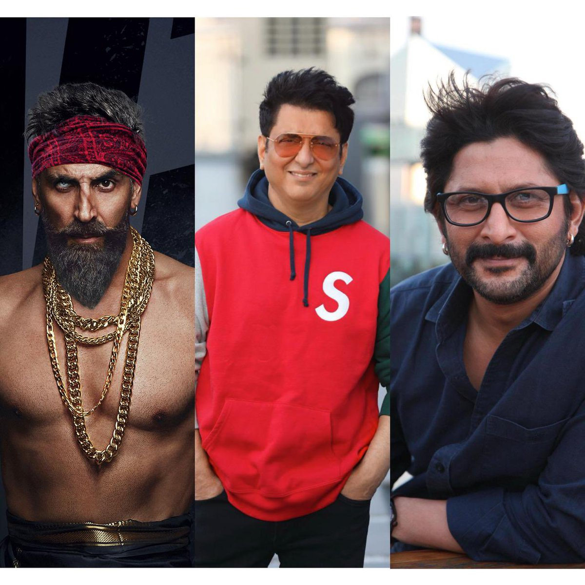 Can't wait to watch @akshaykumar paaji with @ArshadWarsi for the 1st time for #SajidNadiadwala's #BachhanPandey which also co stars @kritisanon. Shoot commenced on Jan 21 in Jaisalmer.  #SidK @WardaNadiadwala @NGEMovies @farhad_samji #AkshayKumar #KritiSanon #arshadwarsi