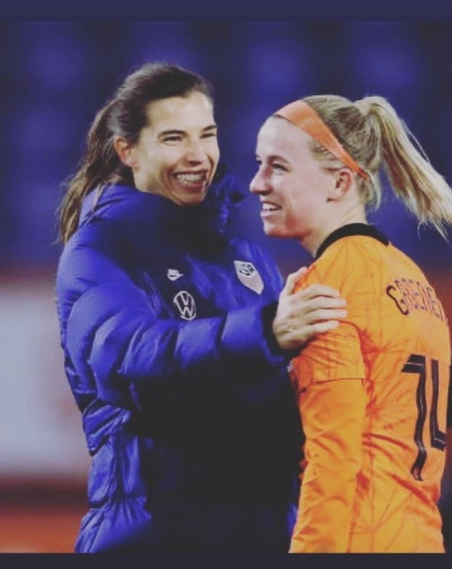 Jackie is here for a while @TobinHeath you need to stick around #MUWomen