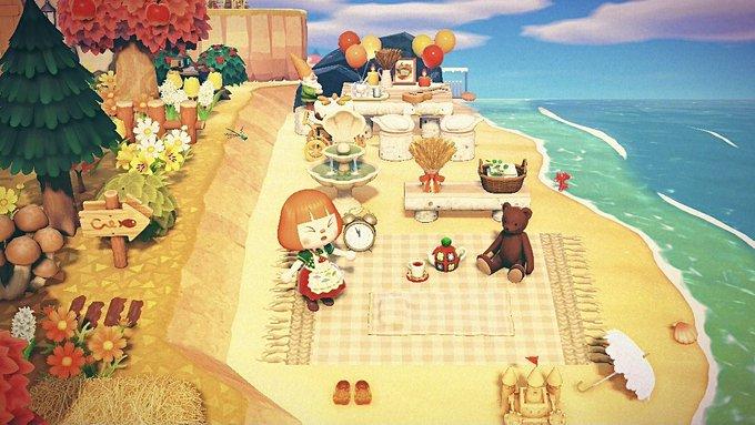 森 あつ プライベート ビーチ 【あつ森】海の家(ビーチ)の作り方