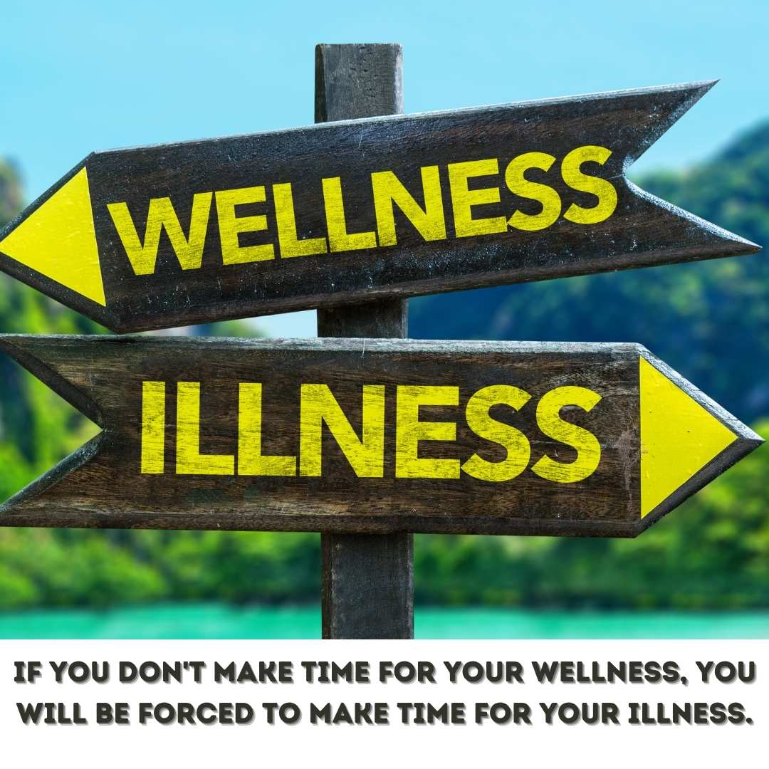 How many of us neglect our wellness each day?  If things turn for the worse, it will catch up with us.  Remember don't forget to take care of yourself.  #aging #diet #faith #fitness #God #happiness #health #inspire #nutrition #wellness #relax  #stress #mindfulness #motivation