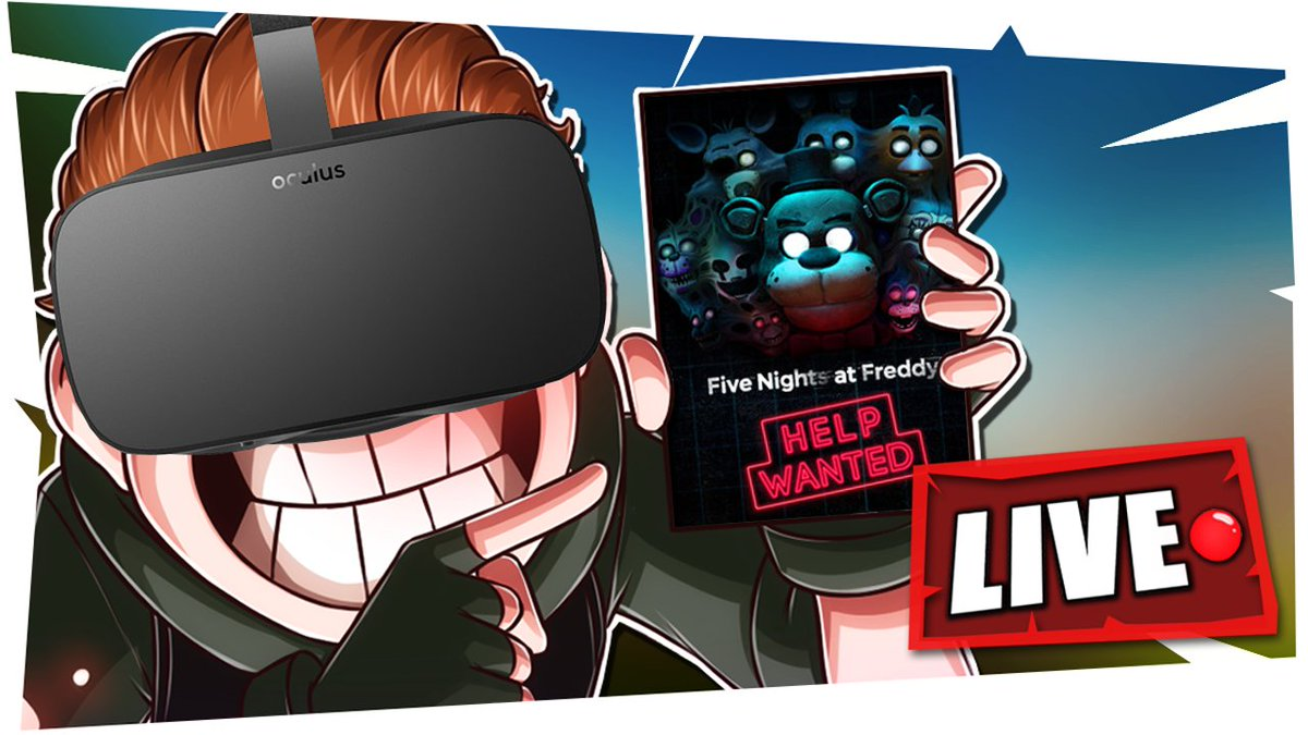 Terroriser - 🔴FIVE NIGHT'S AT FREDDY'S VR LIVESTREAM!🔴  I can't believe I'm doing this.