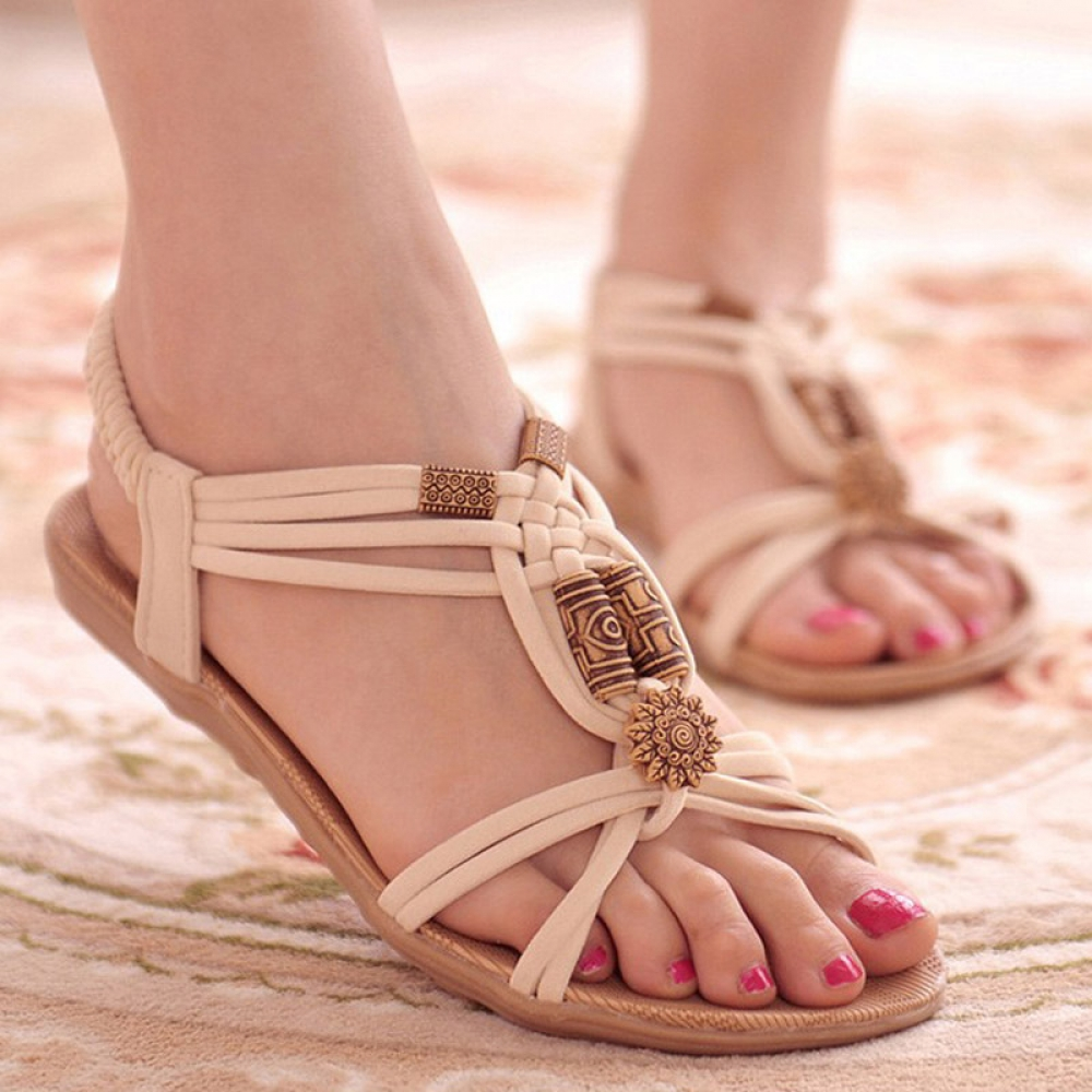 Stylish Comfortable Beach Sandals #smile #outfit