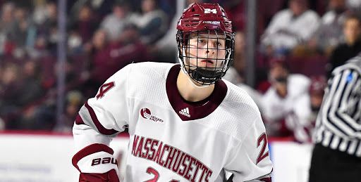 #NYR prospect recap 11/27/2020 🇺🇸  Eric Ciccolini: 1 shot on goal in 3-2 loss Zac Jones (Photo): 1 goal, 2 shots on goal, -3 rating in 4-3 loss  Jones now has 2 goals and 1 assist in 3 games to start the season https://t.co/bKVNZBsd67