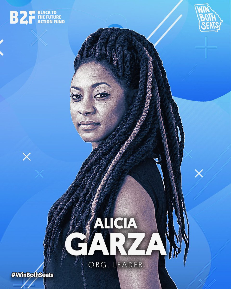 Got Georgia on your mind? @aliciagarza and @BlackToTheFutu1 are getting out the vote! If you want to help her and 15 other organizers on the ground donate to  today - this is our chance to demote Mitch McConnell to the minority on January 5th!
