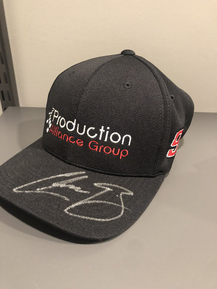 Just realized my tweet never sent earlier! Win this signed hat from the Fontana weekend when my buddy @PagSahlin sponsored the 98! Retweet and follow for a chance to win!