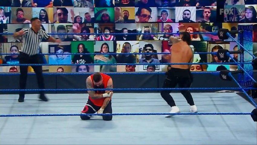 #WWE prefiere a #KevinOwens en lugar de #DanielBryan cómo el próximo retador al título del #TribalChief @WWERomanReigns !! #SmackDown