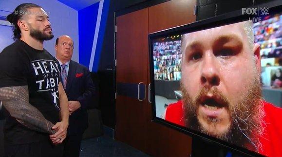 Roman vs. K.O. .... Why 🤨 #SmackDown