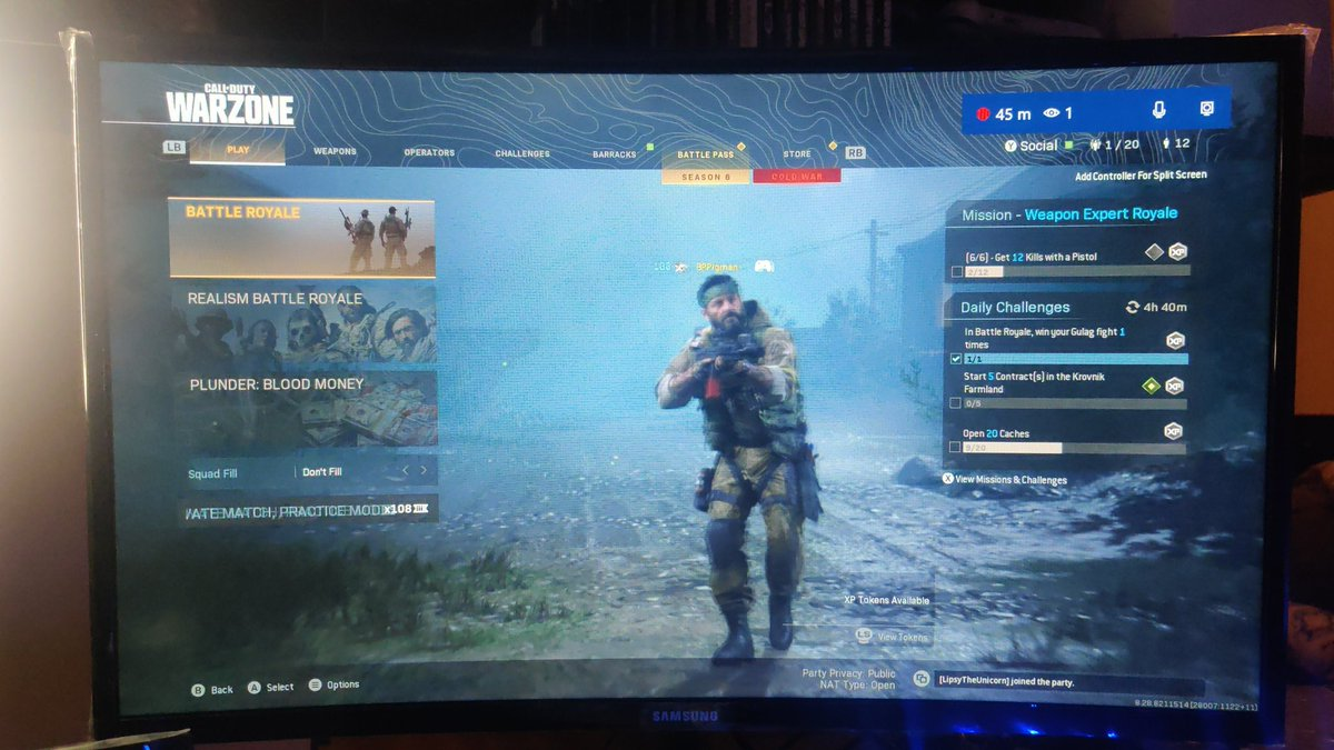 Live link in Bio Playing some warzone will be playing some custom lobbies tonight with the crew