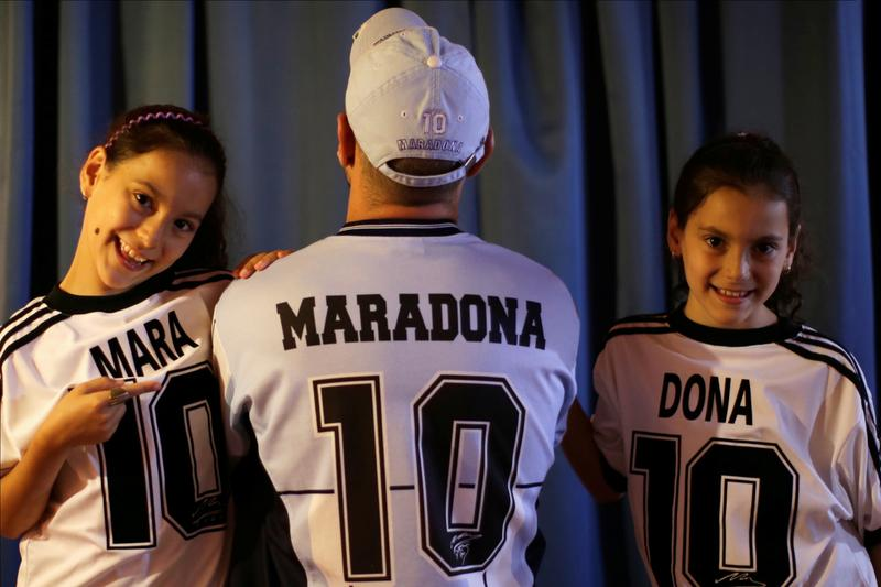 Mara and Dona: Argentine twins a living tribute to soccer great