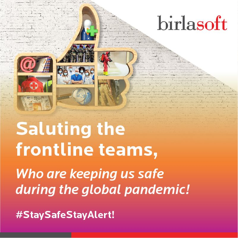Gratitude and respect to the #FrontLineHeroes who have provided relentless service to nations across the world, during the #lockdown and #unlock phases. We salute their grit and determination to help humanity triumph over the invisible enemy. #weshallovercome #StaySafeStayAlert