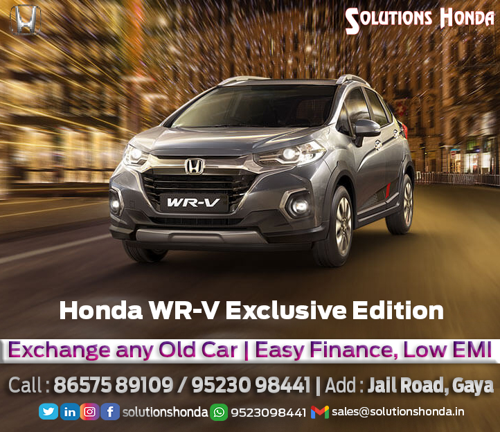 #WinterOffers #HondaCars  Enjoy this #winter safely with #HondaCars  #Amaze #Jazz #City #WRV  #StrongBody #HMileage #TouchScreen #Performer #Airbags #sunroof  #Offers #Easy Finance, #Low EMI #Exchange any #Old Car #Book on call facility  Call/WhatsApp : 9204056953 Jail Road, Gaya https://t.co/vj7GnmFIq0