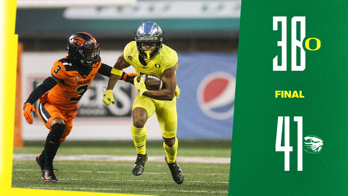 Final in Corvallis. #GoDucks