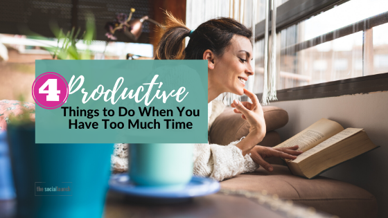 If you find yourself with too much time on your hands, (and want to take advantage of that time!) here is a list of productive things you can do. https://t.co/vspiOvFDNj #productivity https://t.co/7EWuaQ4q4v