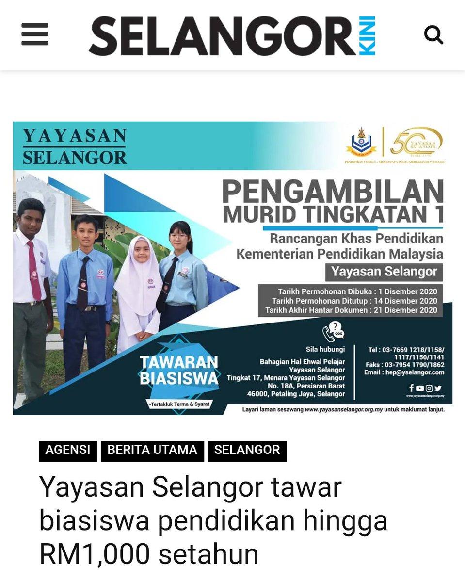 Yayasan Selangor Ys Yselangorportal Twitter